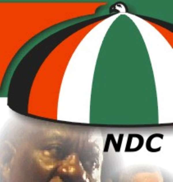 On political ideology: Who christened NDC as social democratic party?